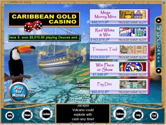 Caribbean gold casino download card ace casino cheats